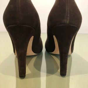 Michael Kors Shoes - Michael Kors Brown Suede Pumps